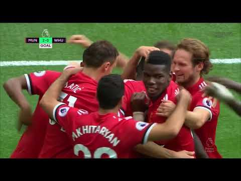 Cuplikan gol Manchester United VS West Ham United 4-0