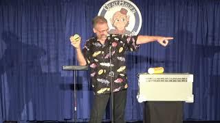 Comedian Ken Groves and Mr  Wilson