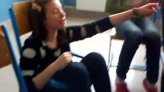 Iva a její židle (záchod) :'DDD