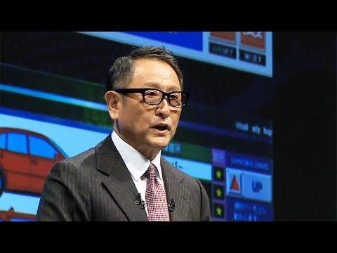 [Joint Press Conference] Speech: Akio Toyoda, President, Toyota Motor Corporation