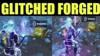 Consume Glitched Foraged items with different effects - Fortnite Meteoric Rise Challenges
