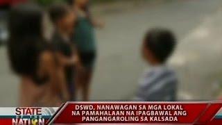 SONA: DSWD, nanawagan sa mga lokal na pamahalaan na ipagbawal ang pangangaroling sa kalsada
