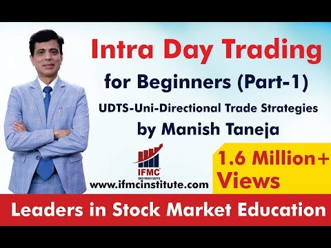 Intraday trading for beginners Part 1 by Manish taneja ll UNI-DIRECTIONAL TRADE STRATEGIES ll