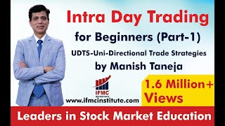Intraday trading for beginners Part 1 ll UNI-DIRECTIONAL TRADE STRATEGIES ll HINDI ll
