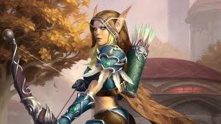 История мира Warcraft - Сильвана Ветрокрылая (Гл. 1: Следопыт Луносвета)