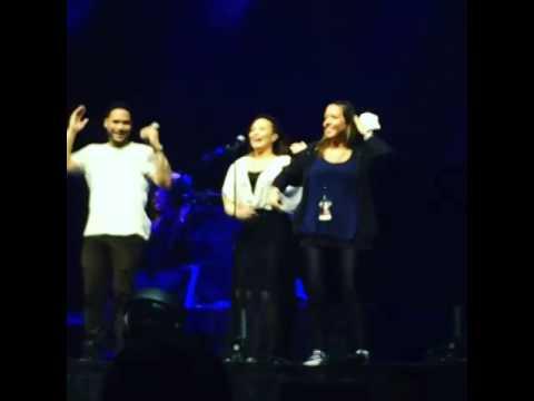 Demi Lovato Dancing 'La Macarena'