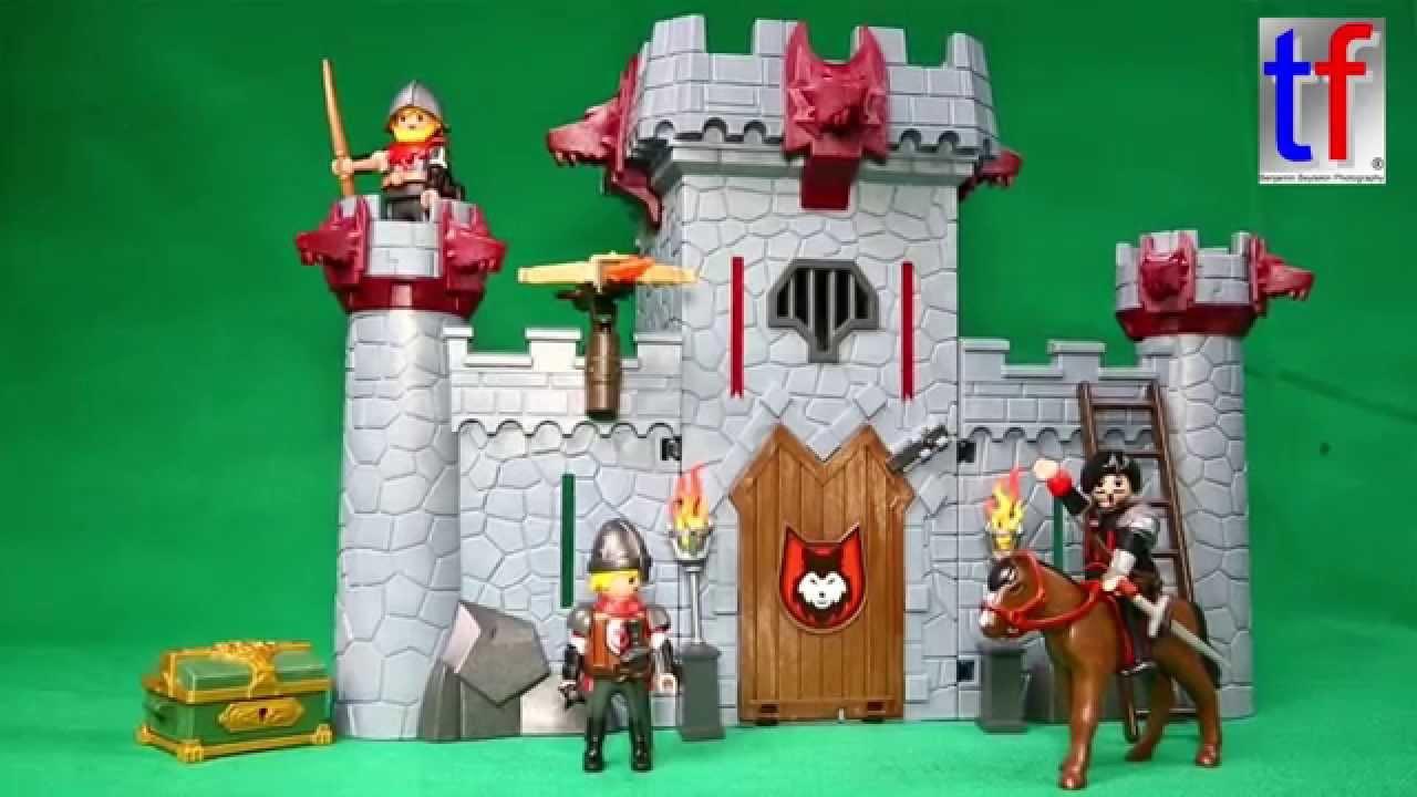 Playmobil 6697 Super 4 Take Along Black Baron's Castle