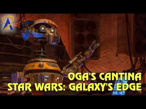 Oga's Cantina featuring DJ R-3X at Star Wars: Galaxy's Edge