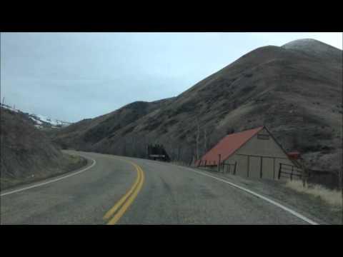 Drive Woodhead Park to Cambridge, Idaho; south down Hwy 71