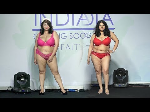 India Plus Size Parafait Lingerie Fashion Show 2019 | UNCUT