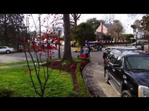 Christmas parade in tarboro