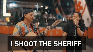 BOB MARLEY - I SHOT THE SHERIFF Live COVER by Andi 33 Ft Niken