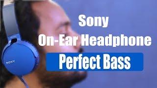 Sony Extra Bass On-Ear Headphone- Your Next Headphone