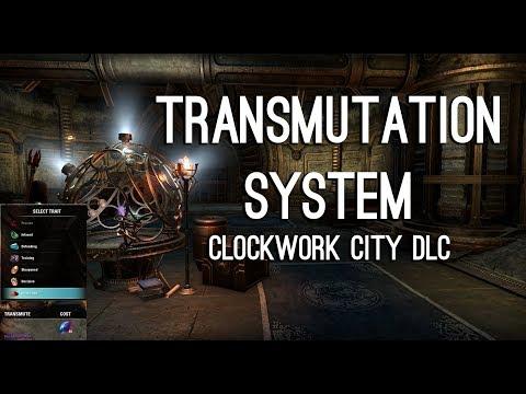 Transmutati System for Clockwork City DLC