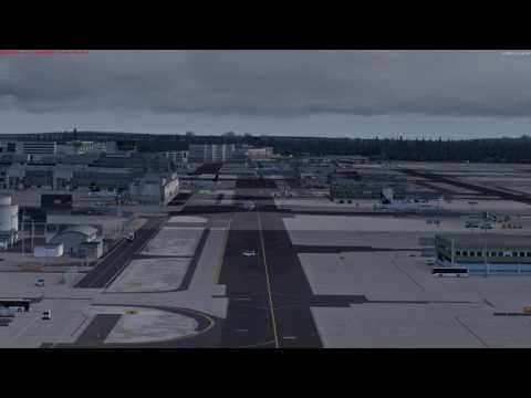 P3d v3.4 with PsxseeconTraffic real live traffic EDDF Frankfurt