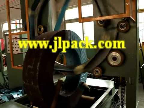Рулоны стали оцинкованной упаковочная машина / большой обертку полосы из нержавеющей стали
