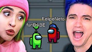 Joguei AMONG US com o FELIPE NETO!!!