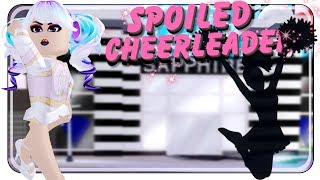 SPOILED CHEERLEADER FROM EARTH 📣 - Roblox Royale High
