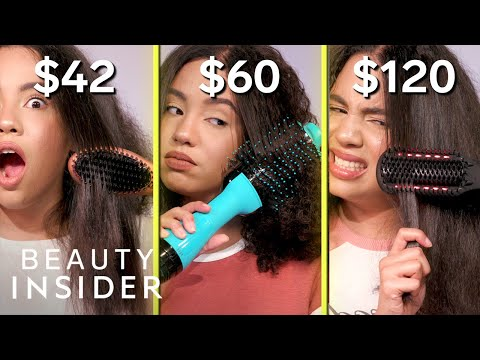 $42 vs. $120 Brush Straighteners On Curly Hair | How Much Should I Spend?