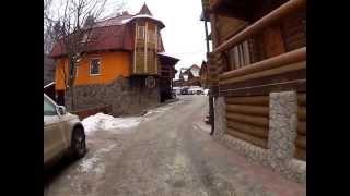 Растояние от отеля Вежа до подьемника 1R(http://kurort-bukovel.com Снял видео для Геннадия из Одессы. Думаю для Вас оно будет тоже полезным С уважением, Виталий..., 2012-12-20T22:38:26.000Z)