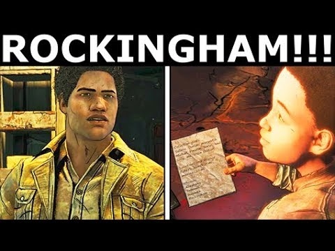 Rockingham! - Clem Uses The Password That Abel Gave Her - The Walking Dead Final Season 4 Episode 3