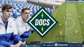 Das Leben als FIFA-Profi mit Tim Latka und Idealz von FC Schalke 04 | IQ ► Onefootball Docs