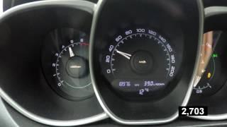 Разгон чипованной Lada Vesta 0-100 по Racelogic 'у