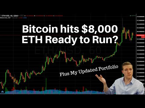 Bitcoin Hits $8k, ETH Poised To Run? How I've Updated My Crypto Portfolio