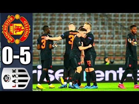 Lask vs Manchester United 0-5 All goals ⚽️⚽️⚽️ 12/03/2020|UEFA Europa league 19/20|Text Review
