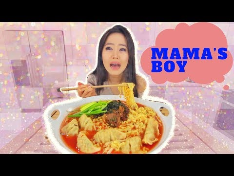Spicy Nuclear Noodle Stew MUKBANG | Eating Show