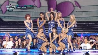 150827 [HD] SNSD - Lion Heart (Comeback Stage) @ MCD