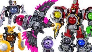 dinosaur is changed power rangers uchuu sentai kyurenoh 04 06 08 voyager combine dudupoptoy