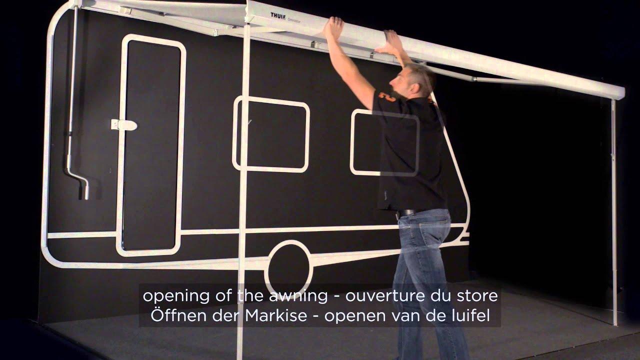 Thule Omnistor 5200 Vinken Caravans Asten Youtube