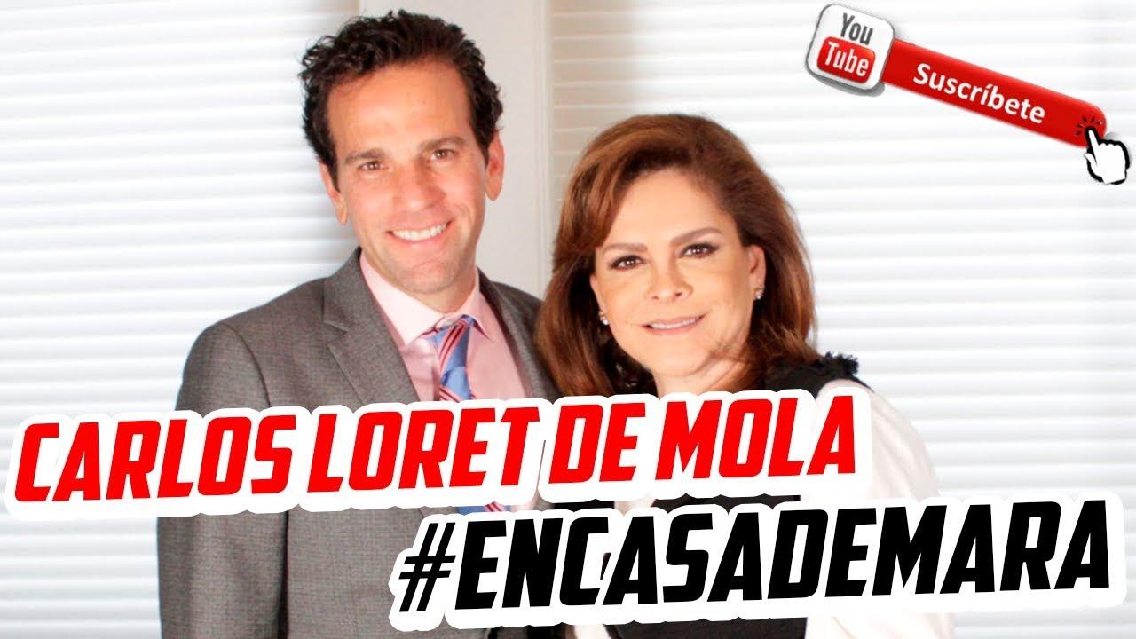 Carlos Loret de Mola desde la intimidad.