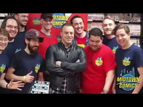 DC Rebirth Midnight Signing with Geoff Johns at Midtown Comics