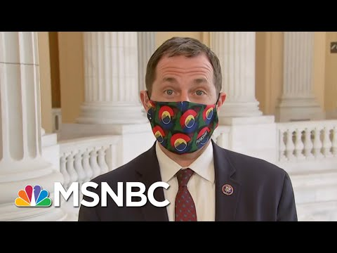 Rep. Jason Crow: 'I'm Not Going To Work With Folks And Normalize That Behavior' | Deadline | MSNBC
