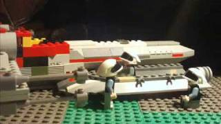 lego starwars new rebel lands in hanger