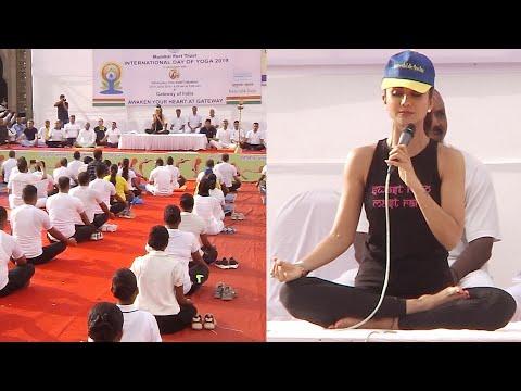 'Yoga helps to age gracefully': Shilpa Shetty on International Yoga Day