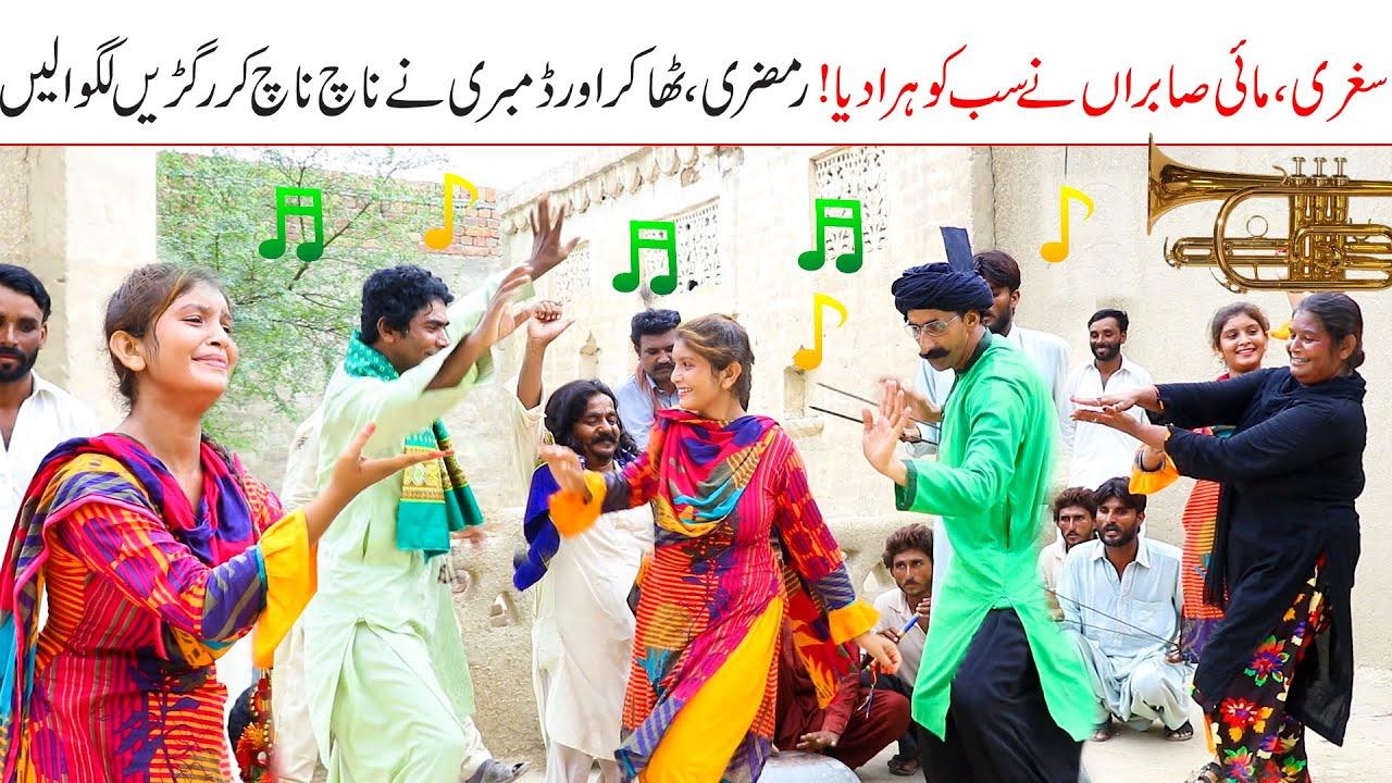 dance competition//Ramzi Sughri Ghafar Thakar & Mai Sabiran New Funny Video By Rachnavi Tv