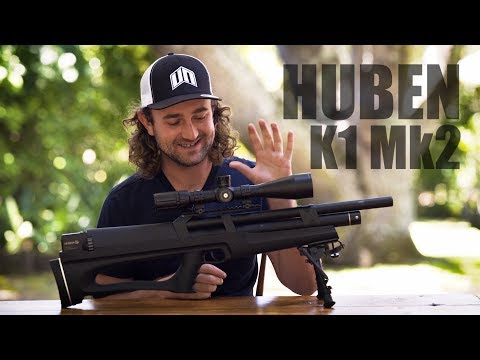Huben K1 Mk2: 80+ ft.lb, Semi-Auto, .22 Caliber BEAST