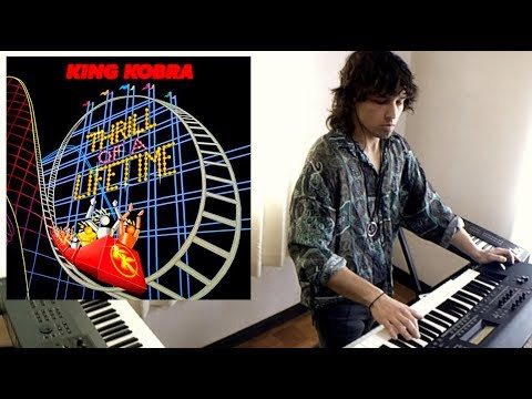 KING KOBRA - Iron Eagle (Never Say Die)  (AOR 1986) Iron Eagle Soundtrack Keyboards Cover