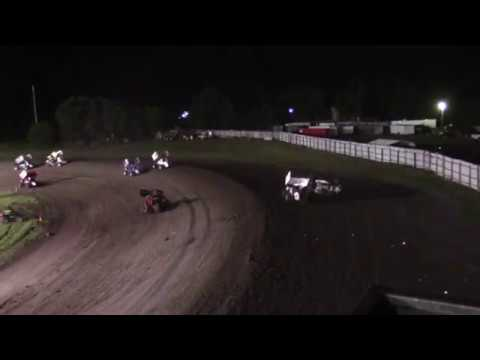 Wild Ride for Schruers and Peterson -- 6/30/17 -- Rapid Speedway
