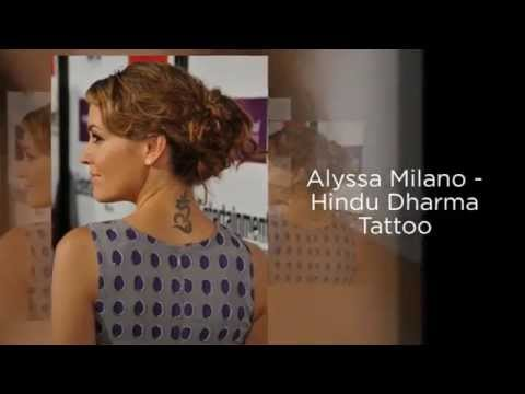 11 celebrities and their tattoos - Celebrity Tattoos