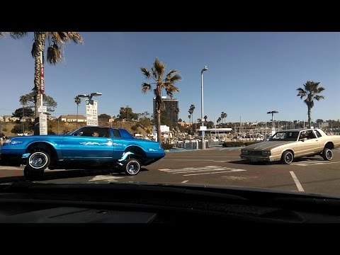 3-Wheel Motion and Parachutes at the Oceanside Harbor Feb 6th, 2016