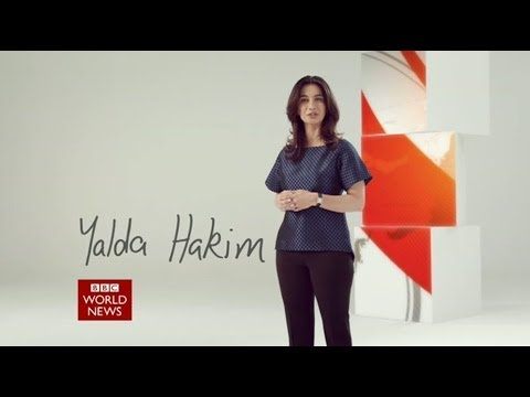 Yalda Hakim BBC World News Promo