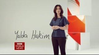 Yalda Hakim BBC World News Promo
