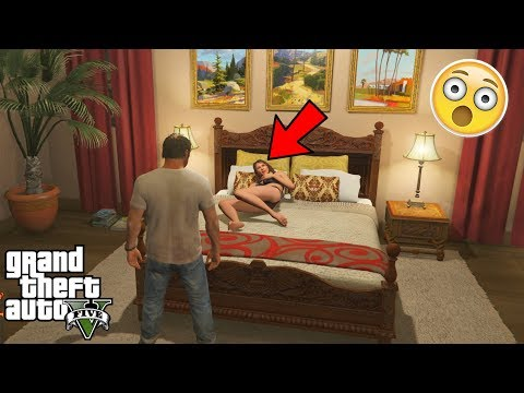 GTA 5 - What Happens if You Visit MICHAELS FAMILY When Hes Not Home