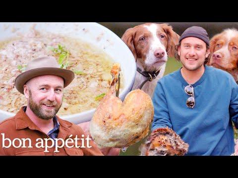 Brad Prepares and Cooks Pheasant | Its Alive | Bon Appétit