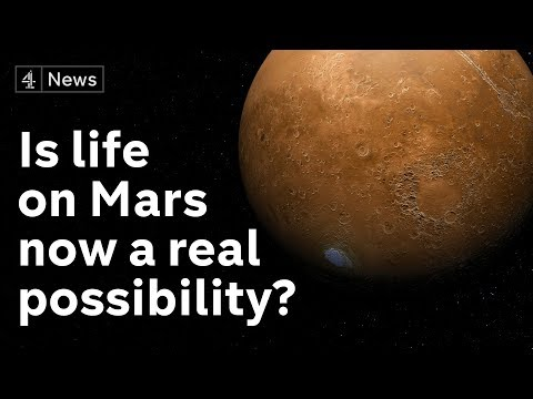 "Scientists find lake of ""liquid water"" on Mars"