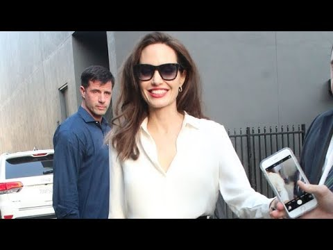 Angelina Jolie Indulges Her  With Countless Selfies And Autographs